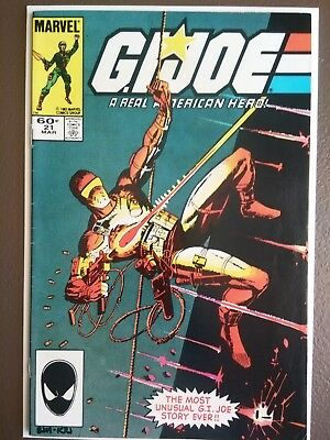G.I. joe #21 first appearance of storm shadow