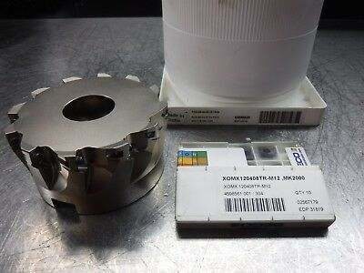 """Seco 4"""" Indexable Facemill 1.5"""" Arbor R220.69-04.00-12-12AN+ Inserts (LOC333B)"""