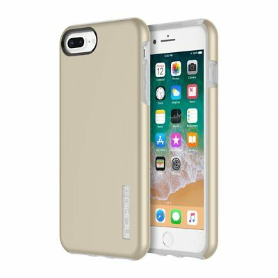 Incipio DualPro Dual Layer Hard Shell Case For iPhone 8 Plus 7 Plus 6S Plus Gold