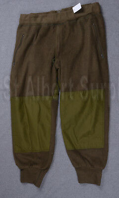 Canadian Army Fleece Pants - Sz 6738 - Winter Extreme Cold - Hw575