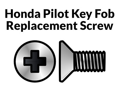 Key Fob Screw Replacement for Honda Pilot 2005-2015 Please read our description