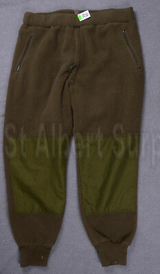 Canadian Army Fleece Pants - Sz 7342 - Winter Extreme Cold - Zg575