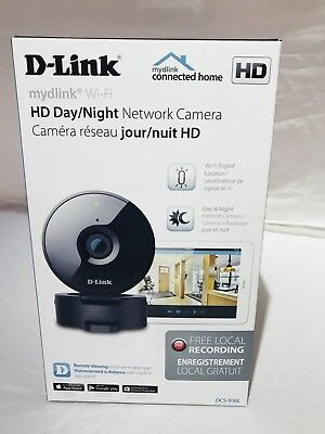 D-Link Wi-Fi Indoor 720p HD IP Camera  Model : DCS-936L
