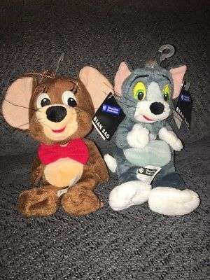 Warner Brothers Beanbag Plush Tom And Jerry/cartoon Characters