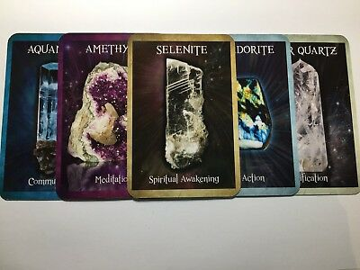 Crystal Box Collection Readings cards wicca answers magick
