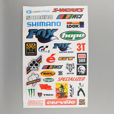 Personality Outdoor BMX Road Bike Cycling Bicycle Decal Cool Stickers Sticker