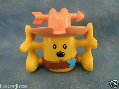 "2007 Mattel Wow Wow Wubbzy Heavy PVC Stack-able Action Figure 3"" Sheriff"