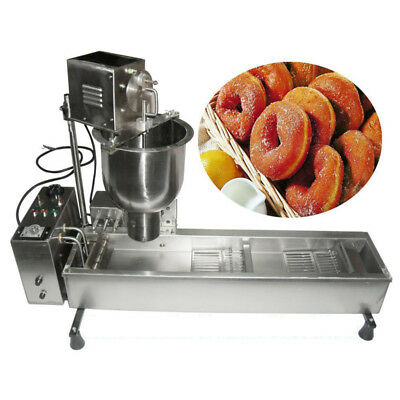 Commercial Auto Donut Maker Making Machine With 3 Sets Stainless Steel Mold
