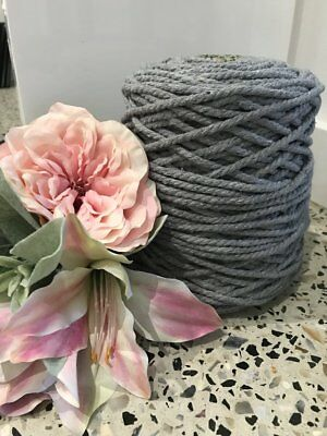 Macrame Cotton Rope Cord 5mm - 2.5kg Coloured - Approx 400m in length