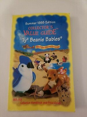 Vintage 1998 Collector's Book on Ty Beanie Babies