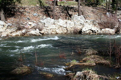 Electric Feather 40 Acre Placer Gold Mining Claims Equipment Land Plumas, CA