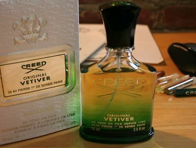 ORIGINAL VETIVER By CREED 5ml - 10 ml Sample - 100% Authentic