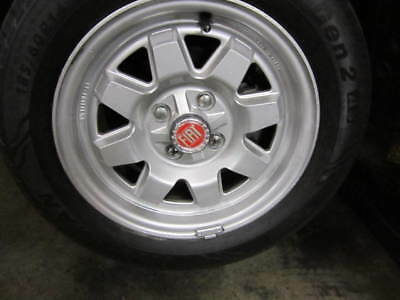 """Fiat Alloy Oem Turbo Wheels, 14""""  With Brand New Tires"""
