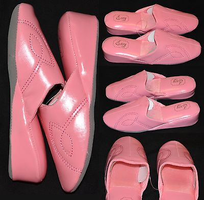 Women's Vintage Wedge House Slippers