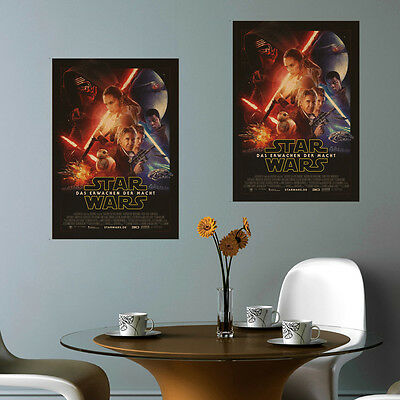 Star Wars Movie Poster Kraft Paper Print Wall Art 20x14inch Living Room Decor