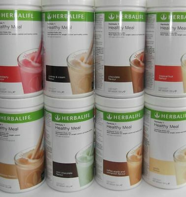 Herbalife Formula 1 Nutritional Shake Mix / Meal replacement 550g tubs