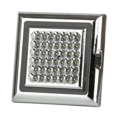 Discoball 12V 42 LED White Light Shed Lamp for Caravan Awning Tent Trailer Ca...