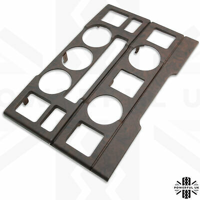 Walnut wood interior Fascia kit for Range Rover L322 dash 2pc Autobiography new