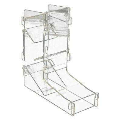 Acrylic Transparent Prism Gaming Dice Towers Toy DIY Board Game 175X155X62m V4N9