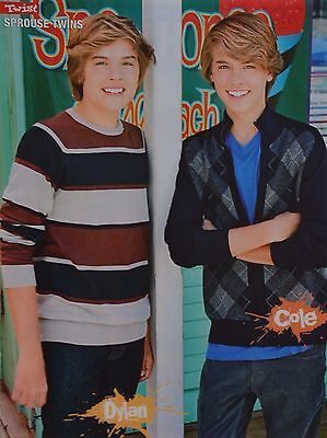 SPROUSE TWINS - A4 Poster (ca 21 x 28 cm) - Cole & Dylan Clippings Fan Sammlung