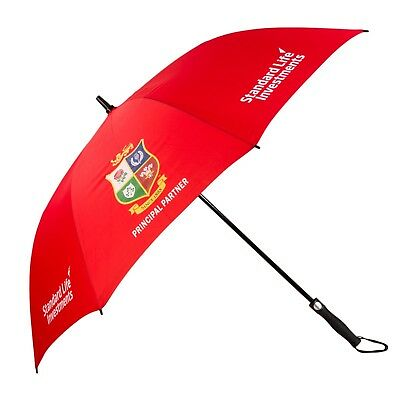 Big Golf Umbrella British & Irish Lions Rugby Red - Windproof & Automatic - New