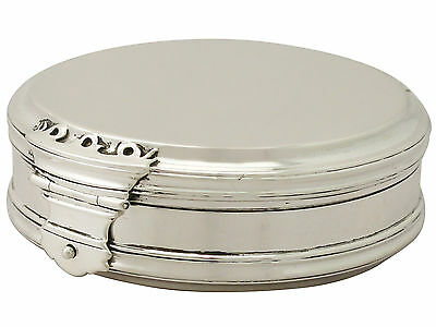 Antique George V, Queen Anne Style Sterling Silver Box