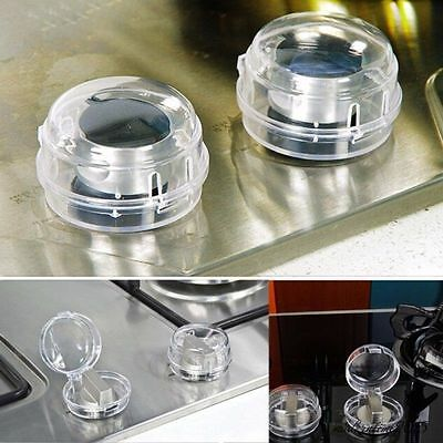 2pcs Infant Child Gas Stove Knob Protective Cover Baby Safety Switch Guard