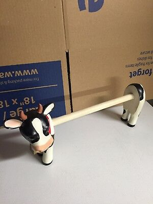 Country Dairy Farm Cow Paper Towel Holder