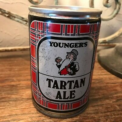 Vintage Younger's Tartan Special Ale Scotland 275 ml Straight Steel Beer Can EMT