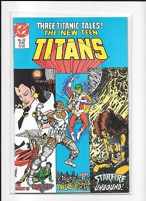 Teen Titans #22 High Grade (9.0) Dc 1986
