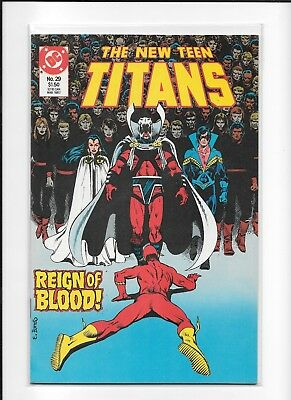 Teen Titans #29 High Grade (9.0) Dc 1987 Brother Blood