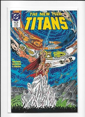 Teen Titans #35 High Grade (9.4) Dc 1987