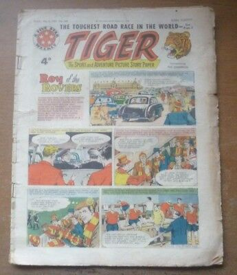 Tiger Comic (Featuring Roy of the Rovers), 2nd May 1959.