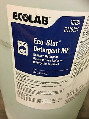 Sealed Ecolab 16124 LAUNDRY - ECO-STAR DETERGENT MP - 15 GAL/DRUM
