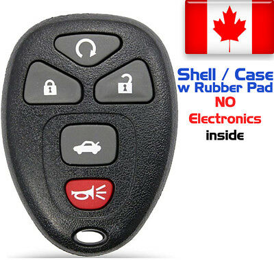 1x New Replacement Keyless Remote Key Fob For GM Chevy 22733524 - Shell Only