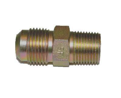 "HPC Male Connector Brass Fitting, 1/2"" Tube, 3/8"" MIP"
