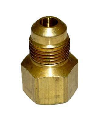 "HPC Adaptor Brass Fitting, 3/8"" Tube, 1/2"" FIP"