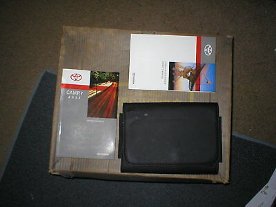 2012 toyota camry owners manual with cover case and navigation rh picclick com 2014 toyota yaris owners manual 2012 toyota yaris user manual