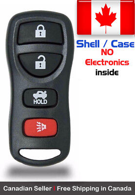 1x New Replacement Keyless Entry Remote Key Fob Case Shell For Nissan KBRASTU15