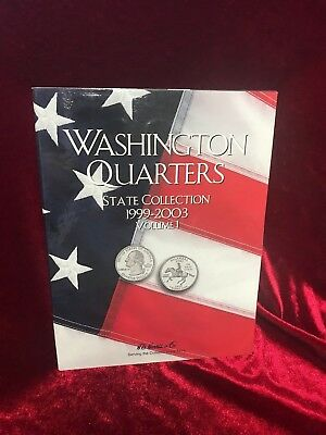 Washington Quarters State Collection Book - 1999-2003 - Volume 1 - No Coins Incl