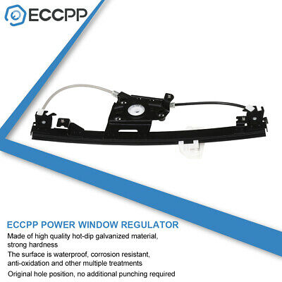 Power Window Regulator for BMW 328i 335i Sedan Rear Right without Motor