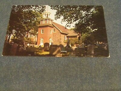 Postcard-Old Swedes Church, Wilmington, Del.-Unposted