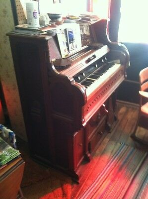 Historic Reed Organ Collection! 2 Manual/Pedal, Chapel, Parlor, Rosewood Piano!