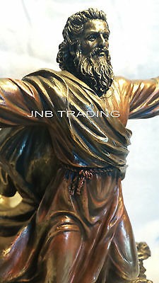 Moses Parting The Red Sea / Crossing Statue Figures Sculpture SHIP Immediately