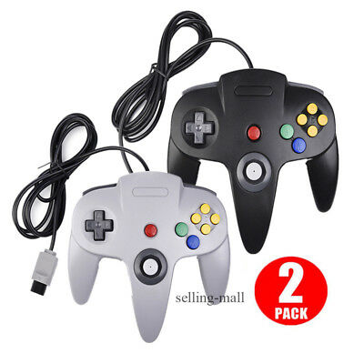 Controller Joystick Gamepad Controllers for N64 Nintendo 64 Console Video Games