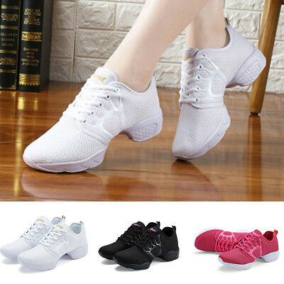 Fashion Women's Trendy Athletic Sneakers Modern Jazz Hip Hop Dance Running Shoes