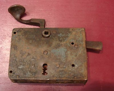 Antique Pa Dutch Elbow Door Lock #0