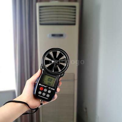 LCD Digital Anemometer Wind Speed Air Temperature Measuring With Backlight B3A0