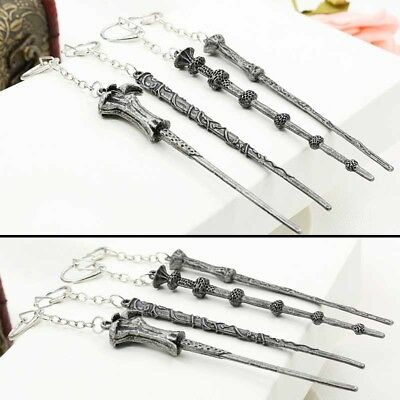 Harry Potter Hermione Silente Lord Voldemort Magic Wand Keyring Keychain Regalo