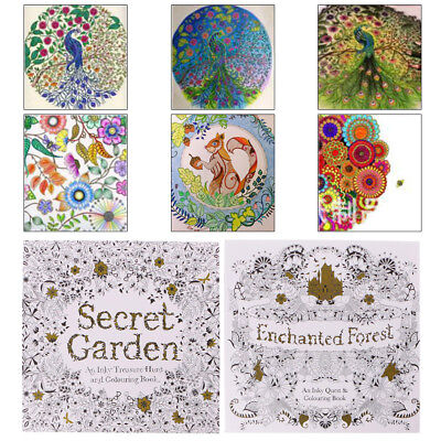 Fantasy Art Coloring Books Enchanted Magical Forests Collection For Kids Adult